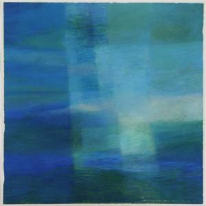 Sininen, 2013, 70x70cm